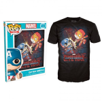 POP T-shirt - Marvel - Civil War Fight - Small