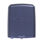 OEM Samsung SGH-A737 Battery Door/Cover - Gray