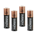 Duracell AA Alkaline Batteries 4-Pack (Expires March 2016) MN1500