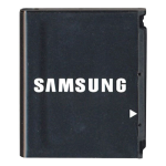 OEM Samsung 3.7v Li-ion Standard Battery for Samsung R500/R610/T729/M520 (Black)