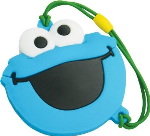 Sesame Street Cookie Monster USB Storage Drive with Movie