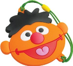 ATP Sesame Street Ernie USB Storage Drive With Movie - Orange