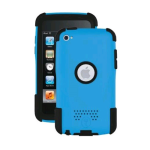 Trident AG-IPOD4-BL Aegis Case for Apple iPod Touch 4 (Blue)