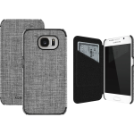 ADOPTED  Inc Soho Folio Case for Samsung Galaxy S6 in Ash/Black
