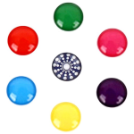 MiButton Home Button Stickers - Solid Neon Colors