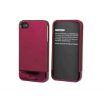 Incase Apple iPhone 4 Cover Case with Stand - Pink (Bulk Packaging)
