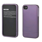 Incase Cover Case with Stand for Apple iPhone 4 - Purple