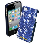 Juicy Couture Hard Case for Apple iPhone 4 - Blue
