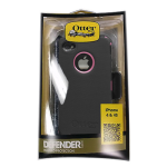 OtterBox Defender Series Rugged Case for Apple iPhone 4/4S (Black & Pink) (Bulk Packaging)