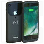 Aircharge Wireless Charging Case for Apple iPhone 7 - Black
