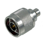 L-Com Connectivity Product 0-6 GHz Type N Male Terminator 50 Ohm