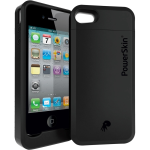 ENERGIZER PowerSkin Case with Built-in Battery for Apple iPhone 4/4S - Black