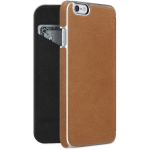 ADOPTED  Inc Leather Folio Case iPhone 6s/6 Saddle Brown/Silver