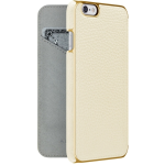 ADOPTED  Inc Leather Folio Case for iPhone 6s/6 in White/Gold
