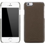 ADOPTED  Inc Leather Wrap Case iPhone 6/6s Saddle Brown/Silver