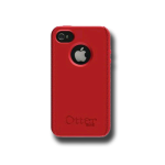 OtterBox Impact case for Apple iPhone 4 - Red