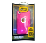 OtterBox Defender Case for Apple iPod Touch 4G - White/Hot Pink