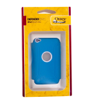 OtterBox - Defender Series Case for Apple iPod Touch 4G - Blue/White