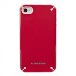 APPLE IPHONE 4/4S PURE GEAR SLIM SHELL CASE - STRAWBERRY RHUBARB