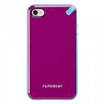APPLE IPHONE 4/4S PURE GEAR SLIM SHELL CASE - PASSION FRUIT