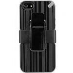 APPLE IPHONE 5/5S/SE PURE GEAR UTILITARIAN CASE - BLACK