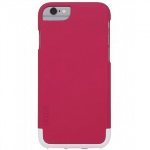 APPLE IPHONE 6/6S SKECH HARD RUBBER MIX SERIES CASE - PINK/WHITE