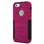APPLE IPHONE 5/5S/SE TRISHIELD CASE - PINK/BLACK