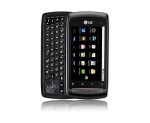 LG AS740 Axis Cellphone for nTelos - Black