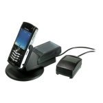 OEM BlackBerry Power Station and Extra Battery Charger for BlackBerry 8100 (ASY-12733-001) - Black