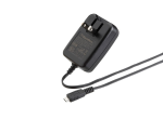 OEM BlackBerry Micro USB Travel Charger with Folding Blades  - Universal - ASY-18080-001