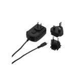 Blackberry International Micro USB Charger with Adapters for EU / UK / US - Universal