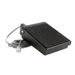 AdvanceTec PTT Foot Pedal for Advance Communicator (Black) - AT8400