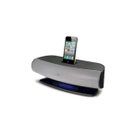 AT&T SongStream Music Dock for Apple iPhone and iPod (Black/Silver)