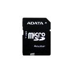 ADATA Retail 8GB-CLS 10  Micro SD Card w/SD Adaptor