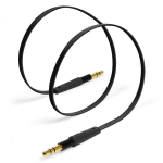 Aux / 3.5mm Stereo Auxiliary Cable / 1M / Black