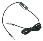 Sprint Universal Auxiliary Cable with Microphone and Multi-Function Button (3.5mm) - Black
