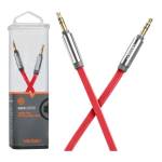 Ventev Aux Cable 4ft. for 3.5mm Devices - Red