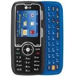 LG AX260 Cell Phone, Camera, Bluetooth, for nTelos - Black/Blue