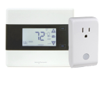 IRIS Z-wave Thermostat ( CT101, Improved CT100 ) and ZigBee plug SPG800 combo