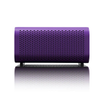 Braven 440 Portable Bluetooth Speaker Mobile Device Charger Speakerphone (Purple/Black End Caps)