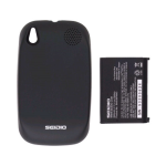 Seidio Innocell Battery & Black Door for Palm Pre Plus - Black