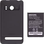 New Seidio Extended Battery & Door for HTC 9292 EVO 4G