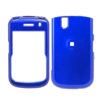 BlackBerry Tour 9630 Deluxe Snap-On Case (Metallic Blue)