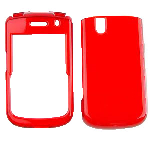 Blackberry BB9630/Tour/9650/Bold Snap On Case - Transparent Dark Red