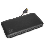 M-Edge Backup Battery 8000 mAh Black Leather