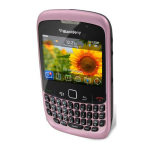 BlackBerry 8530 Curve Replica Dummy Phone / Toy Phone (Lavender Pink)