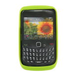 Sprint Silicone Case for BlackBerry 9330 Curve 3G/Curve 2 (Green)