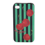 Betsey Johnson Hard Case for Apple iPhone 4/4S - Red