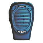 Klein Electronics Badge Wireless Speaker Microphone - BLUCOMM-BADGE