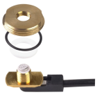 PCTEL Maxrad 3/8 or 3/4 Hole Mount Brass Antenna with UHF Male Connector